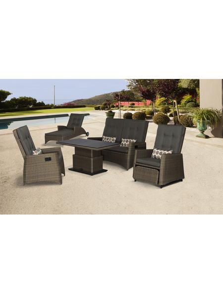 SIENA GARDEN Sofa, 2-Sitzer, B x T x H: 147 x 87 x 108 cm
