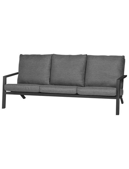 SIENA GARDEN Sofa, 3-Sitzer, B x T x H: 210 x 91 x 81 cm