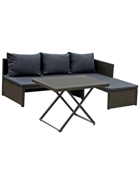 GARDEN PLEASURE Sofa-Set »Mataro«, Stahl