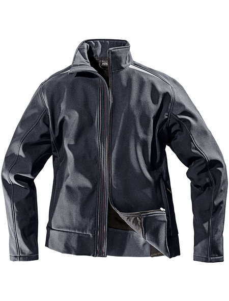 SAFETY AND MORE Softshell-Jacke, Polyester   Elastan, Anthrazit, L