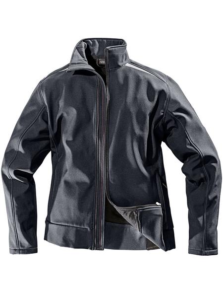 SAFETY AND MORE Softshell-Jacke, Polyester   Elastan, Anthrazit, XXL
