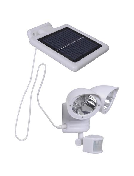 GLOBO LIGHTING Solar-Außenleuchte »SOLAR«, weiß