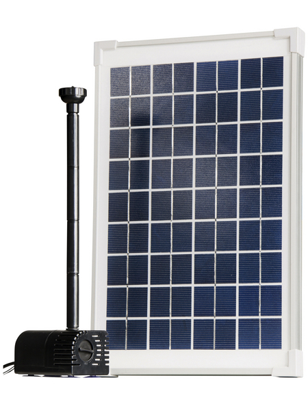 HEISSNER Solarteichpumpe, Fördermenge: 350 l/h