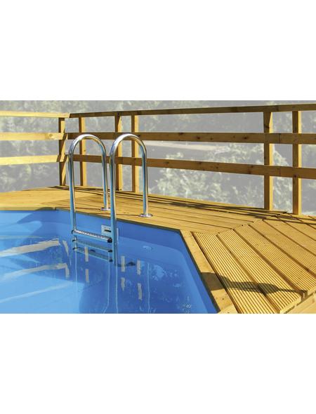 WEKA Sonnendeck, BxTxH: 111 x 215 x 195 cm, Nadelholz