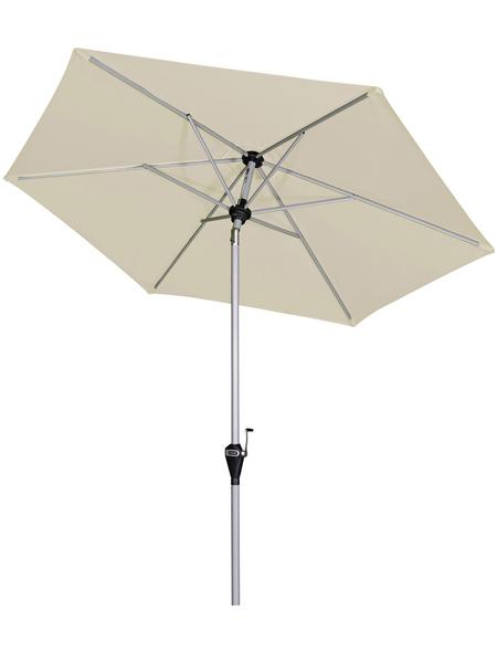 DOPPLER Sonnenschirm »Active«, Ø: 210 cm, abknickbar, Sonnenschutzfaktor: 50+