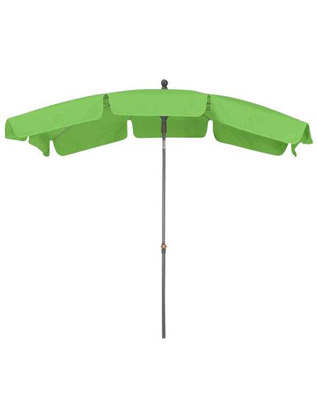 SIENA GARDEN Sonnenschirm, Breite: 140 cm, abknickbar, Sonnenschutzfaktor: 50+