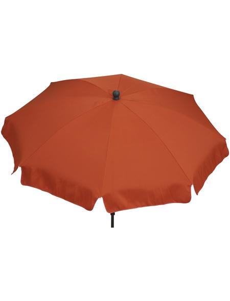 SIENA GARDEN Sonnenschirm, Breite: 180 cm, abknickbar, Sonnenschutzfaktor: 50+