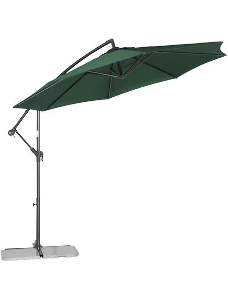 SIENA GARDEN Sonnenschirm, Breite: 301 cm, Sonnenschutzfaktor: 50+