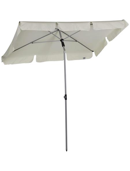 CASAYA Sonnenschirm, BxHxL: 180 x 232 x 120 cm, abknickbar, Sonnenschutzfaktor: 50+