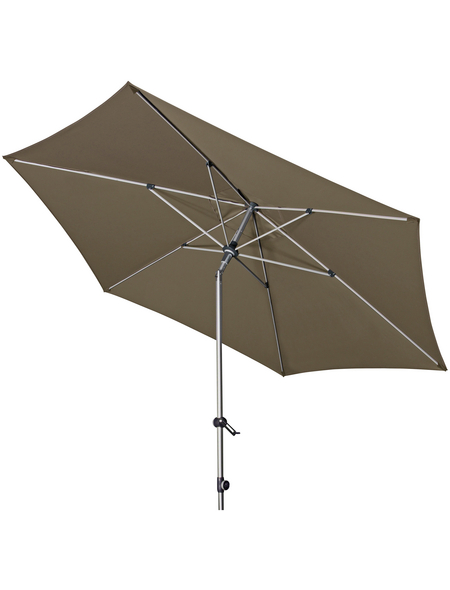 DOPPLER Sonnenschirm »Expert«, Ø: 320 cm, abknickbar, Sonnenschutzfaktor: 80+