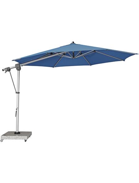 DOPPLER Sonnenschirm »Expert«, Ø: 350 cm, Sonnenschutzfaktor: 80+