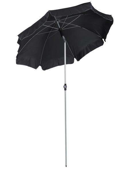 CASAYA Sonnenschirm, Format: 150 x 225 (D x H) cm, abknickbar, Sonnenschutzfaktor: 50+