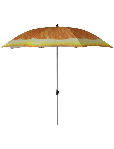 DOPPLER Sonnenschirm »Frucht«, Ø: 200 cm, abknickbar, Sonnenschutzfaktor: 50+