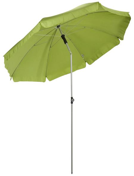 CASAYA Sonnenschirm, Ø x H: 200 x 235 cm, abknickbar, Sonnenschutzfaktor: 50+
