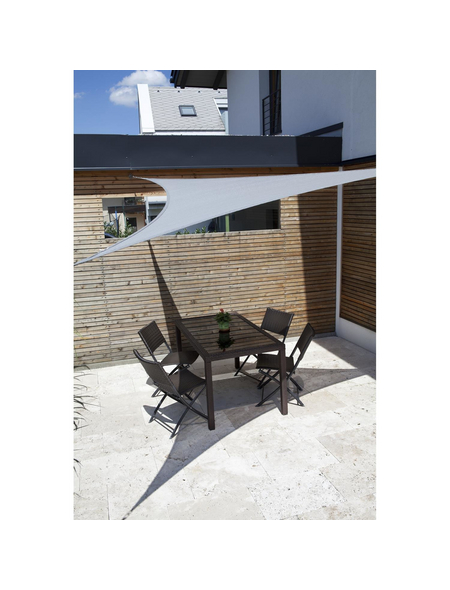 WINDHAGER Sonnensegel »Adria«, dreieckig, 360 x 360 x 360 cm