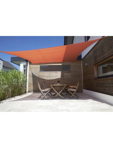 WINDHAGER Sonnensegel »Adria«, quadratisch, Breite Schirmtuch: 360 cm