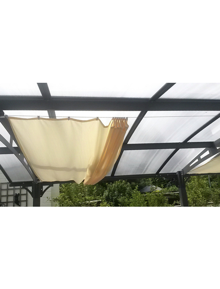 FLORACORD Sonnensegel, rechteckig, 380 x 88 cm