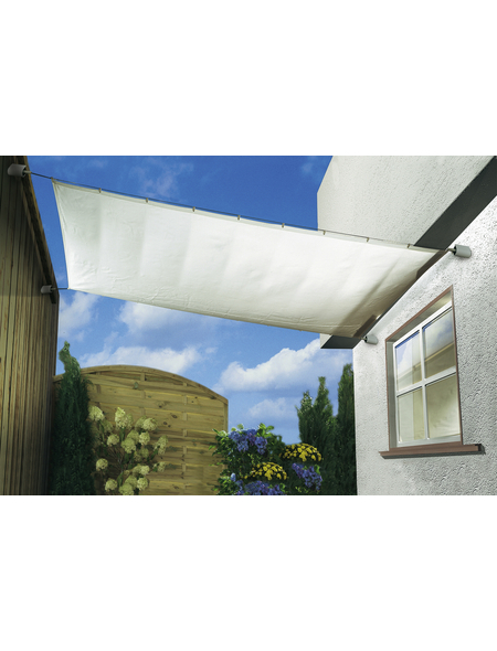 FLORACORD Sonnensegel, rechteckig, Format: 420 x 140 cm