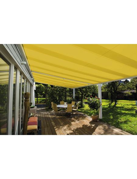 GARDENDREAMS Sonnensegel, rechteckig, geeignet für: Glas-Überdachungen, Format: 600 x 350 cm