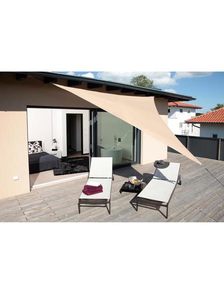 WINDHAGER Sonnensegel »Riviera«, dreieckig, 360 x 360 x 360 cm