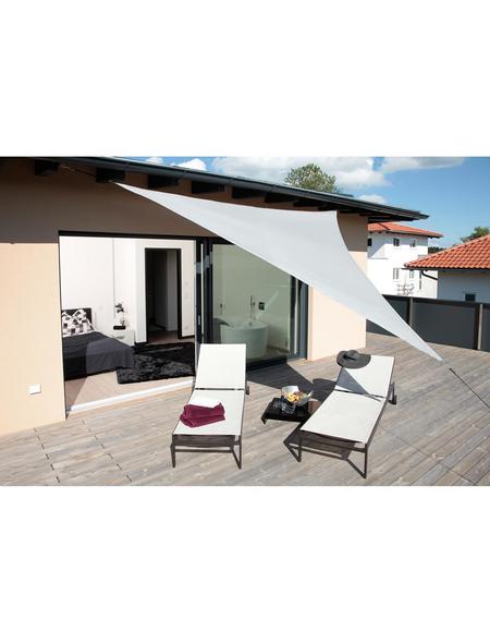 WINDHAGER Sonnensegel »Riviera«, dreieckig,  Format: 360  x  360  x  360 cm