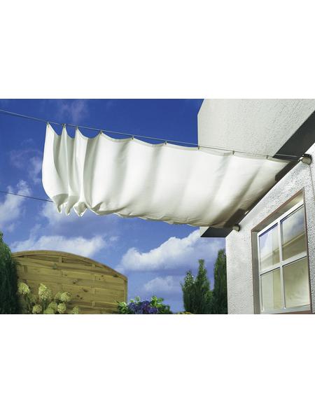 FLORACORD Sonnensegelbausatz, rechteckig, 270 x 140 cm