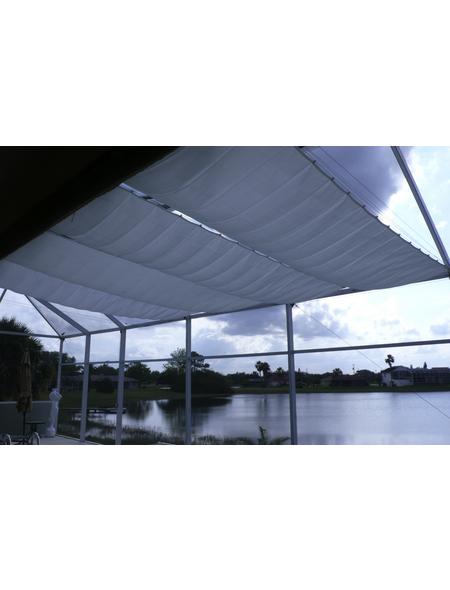 PEDDY SHIELD Sonnensegelbausatz, rechteckig,  Format: 330 x  140  cm