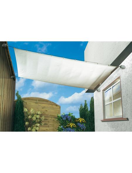 PEDDY SHIELD Sonnensegelbausatz, rechteckig,  Format: 420 x  140  cm
