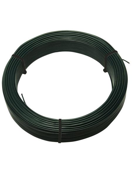 FLORAWORLD Spanndraht, HxBxT: 4 x 19 x 19 cm, grün, für Zaunstabilität