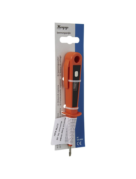 KOPP Spannungsprüfer »324201080«, orange