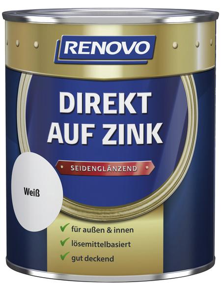 RENOVO Speziallack »Direkt auf Zink«, Deckend
