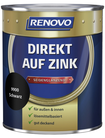 RENOVO Speziallack »Direkt auf Zink«, Lasierend