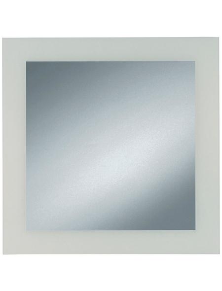 KRISTALLFORM Spiegel, B x H: 45  x  45 cm, quadratisch