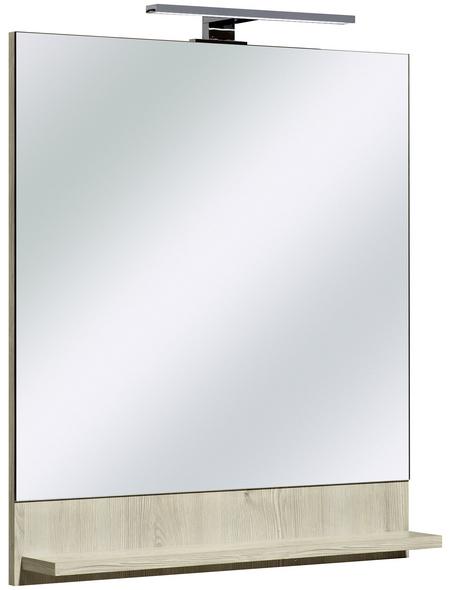 PELIPAL Spiegel »Jan«, beleuchtet, BxH: 60 x 68 cm