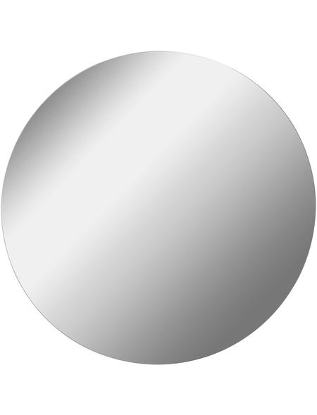 FACKELMANN Spiegelelement, B x H: 80  x  80 cm, rund