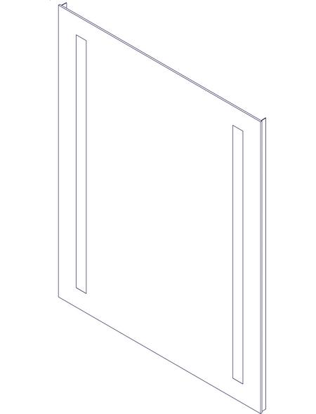 FACKELMANN Spiegelelement, beleuchtet, BxH: 60 x 75 cm