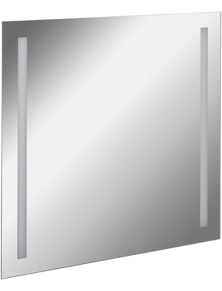 FACKELMANN Spiegelelement, beleuchtet, BxH: 80 x 75 cm