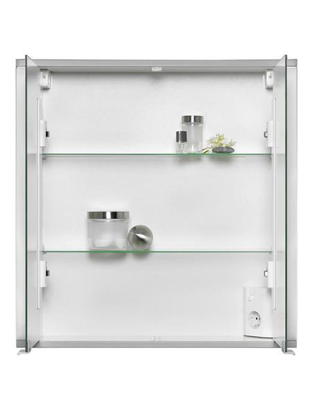 JOKEY Spiegelschrank, 2-türig, B x H: 65 x 66 cm