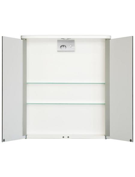 JOKEY Spiegelschrank, 2-türig, LED, BxH: 55 x 63 cm