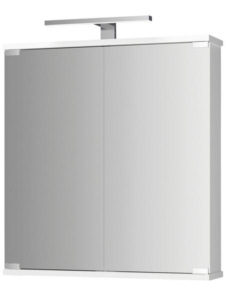 JOKEY Spiegelschrank, 2-türig, LED, BxH: 60 x 70,5 cm