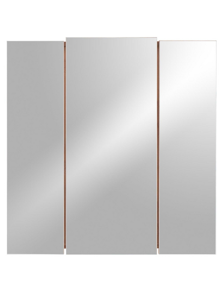 POSSEIK Spiegelschrank, 3-türig B x H: 68 x 71 cm