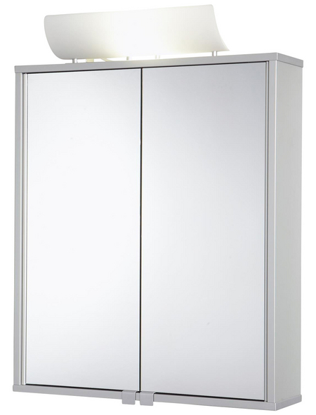 JOKEY Spiegelschrank »Alusmart«, 2-türig, B x H: 60 x 79 cm