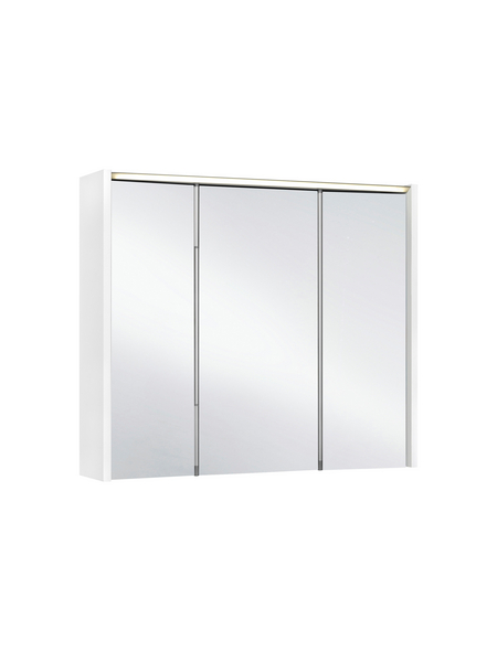 JOKEY Spiegelschrank »Arbo«, 3-türig, LED, BxH: 73 x 62,7 cm