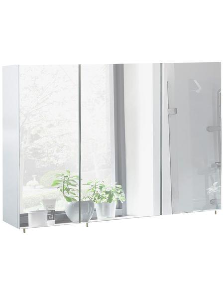SCHILDMEYER Spiegelschrank »Basic«, Weiß BxH: 120 cm x 71 cm