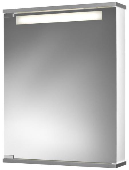 JOKEY Spiegelschrank »Cento«, 1-türig, BxH: 50 x 65 cm, beleuchtet