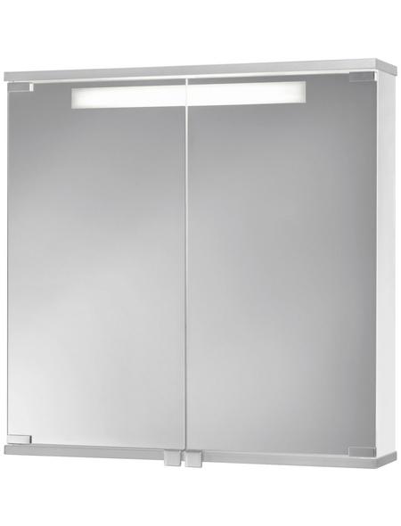 JOKEY Spiegelschrank »Cento 60«, 2-türig, BxH: 60 x 65 cm, beleuchtet