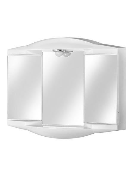 SIEPER Spiegelschrank »Chico GL«, 2-türig, BxH: 62 x 52,6 cm, beleuchtet