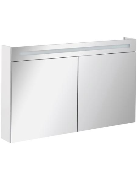 FACKELMANN Spiegelschrank »CL 120«, Weiß BxH: 120 cm x 71 cm