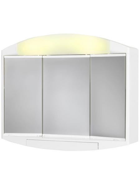 JOKEY Spiegelschrank »Elda«, Weiß BxH: 59 cm x 49 cm