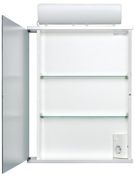 JOKEY Spiegelschrank »Entro«, 1-türig, BxH: 50 x 74 cm, beleuchtet